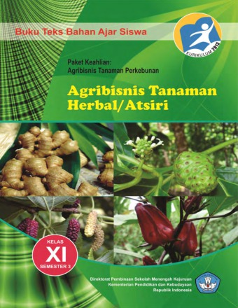 Agribisnis Tanaman Herbal/ Atsiri