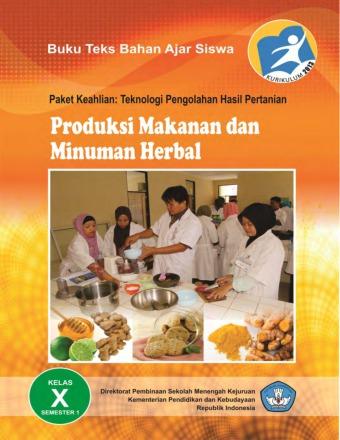 Produksi Makanan dan Minuman Herbal