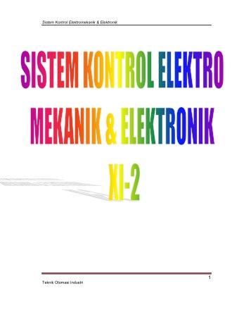 Sistem Kontrol Elektro Mekanik & Elektronik