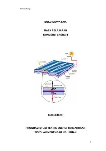 Konversi Energi 1