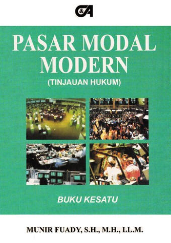 Pasar Modal Modern (Tinjauan Hukum)