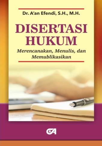 Disertasi Hukum