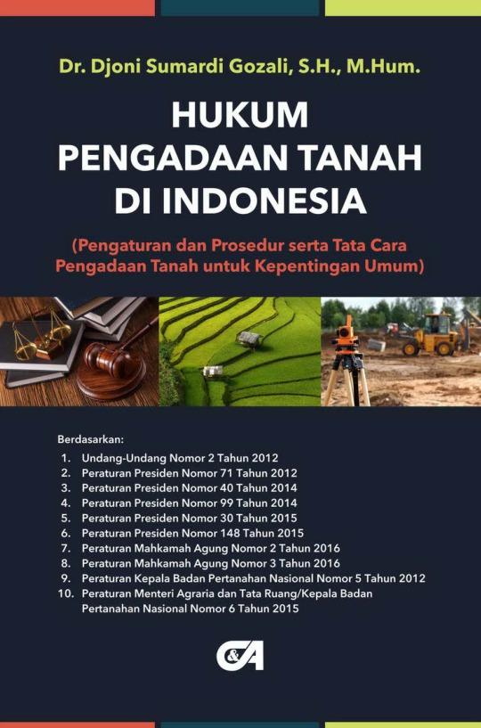 Hukum Pengadaan Tanah di Indonesia