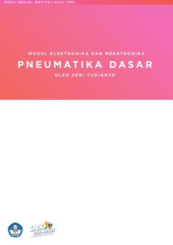 Modul Elektronika dan Mekatronika Pneumatika Dasar