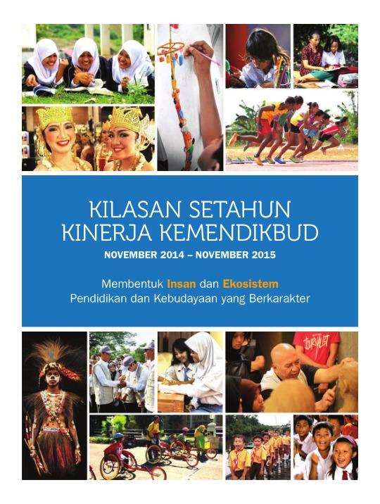 Kilasan Setahun Kinerja Kemendikbud, November 2014 – November 2015