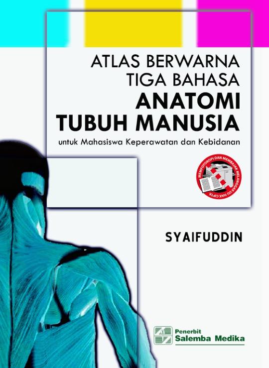 Atlas Berwarna Tiga Bahasa Anatomi Tubuh Manusia