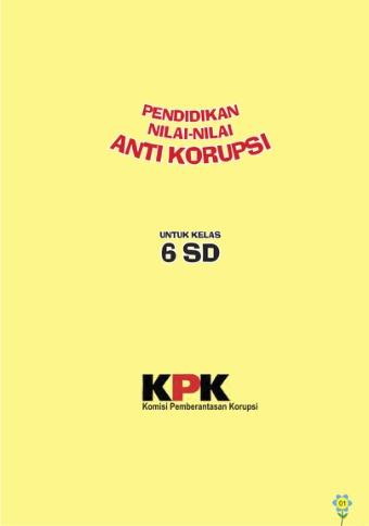 Pendidikan Nilai-nilai Anti Korupsi
