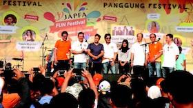 Kegembiraan keluarga besar di JAPFA Fun Festival