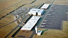 Israel pagari bandara setinggi 30 meter