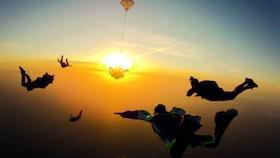 NSW Paracenter, tawarkan sensasi ekstrem di langit Pangandaran