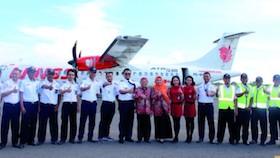 Bandara Trunojoyo Sumenep, Wings Air sukses terbang uji coba Surabaya-Sumenep