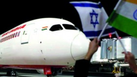 Arab Saudi izinkan maskapai India tolak Israel