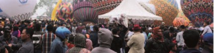 Festival balon udara di Wonosobo diikuti ratusan peserta