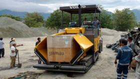 Volvo Paver tingkatkan jaringan transportasi di Sulawesi Tengah