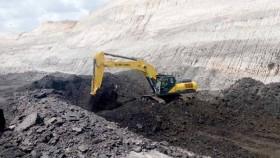 Sumitomo Excavator, untuk pekerjaan tambang batubara