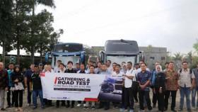 Hino gelar Road Test Hino Bus RN dan FC Bus