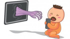 Bahaya tersembunyi program layar bagi balita