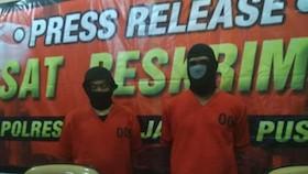 Aksi persekusi para pengemudi ojol