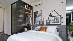 Hunian bergaya black and white untuk milenial