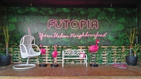 Futopia, surga makanan dan spot foto