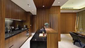 Desain kompak interior Jepang