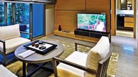 Apartemen dengan inspirasi Jepang