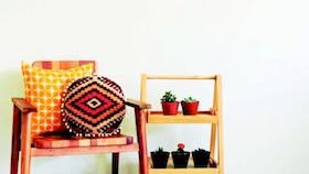 Mendekorasi ruang dengan motif tradisional