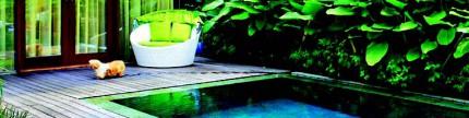 Membuat kolam renang di rumah