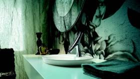 Wastafel dan keran estetik dan hemat air