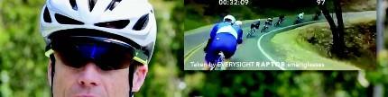 Everysight Raptor, kacamata berbasis AR untuk pembalap sepeda profesional