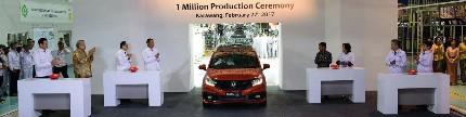 Selebrasi satu juta unit Honda di Indonesia