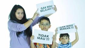 Bantu orangtua mendisiplinkan anak
