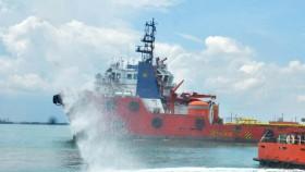 Pertamina gelar Emergency Drill  di perairan Balongan