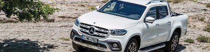 Mercedes-Benz X-Class, debut d-cab fenomenald