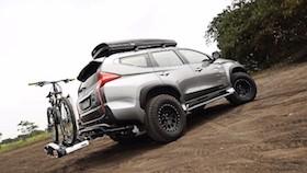 Mitsubishi Pajero Sport Dakar 4x4 2017, Dakar overland