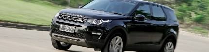 Land Rover Discovery Sport 2.0, urban disco