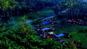 Rintangan sungai dalam jalur basah dari Bali Barat menuju Timur