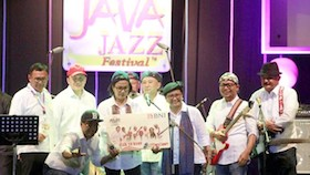 """Elek Yo Band"" di Java Jazz Festival 2018"