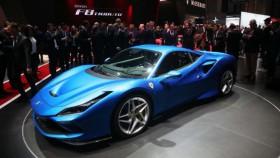 Ferrari F8 di pameran Genewa Show 2019