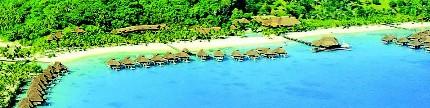 Bora Bora Island, surga tersembunyi di Polinesia