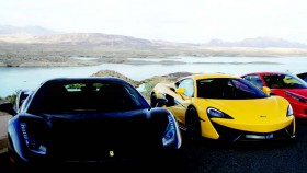 The exotic cars