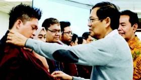 Prof. Dr. Ir. Harjanto Prabowo, M.M. mengantar visi Binus 2035