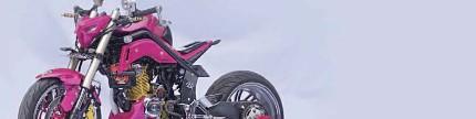 Honda modif contest 2017 Bandung, ini dia jawara kelas FFA