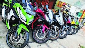 Bursa sport 250 cc second, budget cetak bisa sikat
