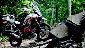 Honda CB500X 2017, mainan pembesut BMW GS1200