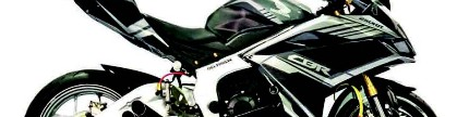 Honda CBR250RR 2017, standar kekar