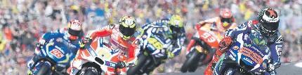 MotoGP seri XVIII, Valencia, Spanyol ukiran manis Jorge Lorenzo