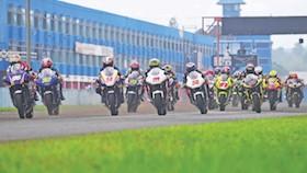 Kejurnas sport 250 cc surat sakti bikin keki
