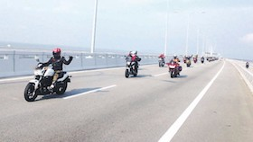 Honda asian journey 2016, Thailand-Malaysia melintas dua negara berbagi sensasi