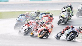 MotoGP seri XVII, Sepang-Malaysia cuaca tak menentu bikin bingung